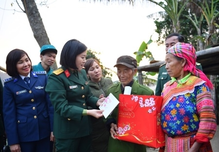 Military women implement the Determination to Win Emulation Movement
