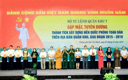 Lực lượng vũ trang Quân khu 7 phát huy vai trò nòng cốt trong xây dựng nền quốc phòng toàn dân