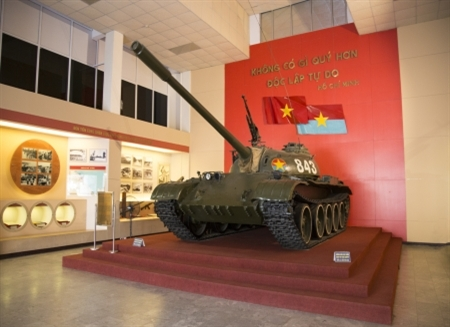 Bảo tàng Lịch sử Quân sự Việt Nam - nơi lưu giữ và phát huy giá trị di sản văn hóa Quân sự Việt Nam