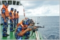 Vietnam Coast Guard resolutely and persistently struggles to contribute to maintaining peace and stability of seas and islands of the Fatherland