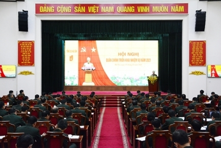 Well performing the logistics work of 2021 under Resolutions of all-level Party Congresses