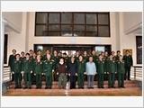 Gặp mặt lãnh đạo Tổng cục Chính trị qua các thời kỳ nhân kỷ niệm 68 năm Ngày truyền thống