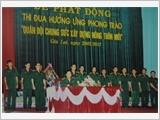 """Binh đoàn 15 với phong trào thi đua """"Quân đội chung sức xây dựng nông thôn mới"""""""