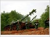 """Binh chủng Tăng thiết giáp vận dụng kinh nghiệm của """"Trận đầu ra quân đánh thắng"""" vào thực tiễn hiện nay"""