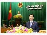 Thủ tướng trình bày Báo cáo kinh tế - xã hội