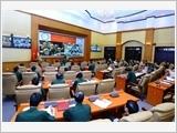 Tổ chức hội nghị quân chính sơ kết công tác quân sự, quốc phòng 6 tháng đầu năm 2013