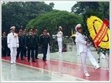 Kỷ niệm 68 năm Quốc khánh 02-9: Lãnh đạo Đảng, Nhà nước vào Lăng viếng Chủ tịch Hồ Chí Minh