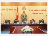 Ủy ban Thường vụ Quốc hội họp phiên thứ 24