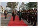 Tăng cường đoàn kết đặc biệt, hợp tác toàn diện Việt Nam - Lào