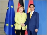 Thủ tướng Nguyễn Tấn Dũng hội đàm với Thủ tướng, hội kiến Tổng thống và Chủ tịch Quốc hội Đức
