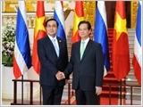 Lãnh đạo nước ta đón tiếp, hội đàm, hội kiến với Thủ tướng Vương quốc Thái-lan