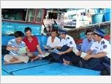 Vùng Cảnh sát biển 3 tăng cường tuyên truyền, giáo dục, phổ biến kiến thức pháp luật cho bộ đội