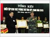 Lực lượng vũ trang Bắc Giang phát huy vai trò nòng cốt trong xây dựng khu vực phòng thủ