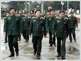 Thượng tướng Ngô Xuân Lịch thăm, làm việc tại Quân khu 2
