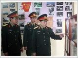Thượng tướng Ngô Xuân Lịch thăm, làm việc tại Sư đoàn 312