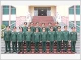 Thượng tướng Ngô Xuân Lịch làm việc tại Quân khu 1