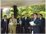 Ủy ban hỗn hợp đảng CPP - CNRP họp phiên đầu tiên