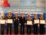 """Cuộc vận động """"Phát huy truyền thống, cống hiến tài năng, xứng danh Bộ đội Cụ Hồ"""" với xây dựng phẩm chất người chiến sĩ Hải quân"""