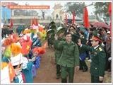 Quân khu 3 thực hiện công tác tuyển chọn, gọi công dân nhập ngũ