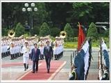 Lãnh đạo nước ta đón tiếp, hội đàm với Thủ tướng Hà Lan Mắc Rút-tơ