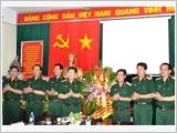 Thượng tướng Ngô Xuân Lịch thăm Tạp chí Quốc phòng toàn dân