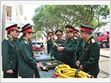 Binh chủng Công binh nâng cao chất lượng tổng hợp theo Nghị quyết Trung ương 8 (khóa XI)
