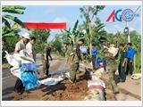 """Phát huy phẩm chất """"Bộ đội Cụ Hồ"""", lực lượng vũ trang Quân khu 9 thực hiện tốt công tác dân vận"""