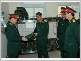 Chủ động thực hiện tốt công tác hậu cần quân đội năm 2015