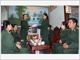 Phụ nữ Quân đội đẩy mạnh thực hiện phong trào thi đua yêu nước, hoàn thành tốt nhiệm vụ