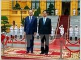 Thủ tướng Nguyễn Tấn Dũng hội đàm với Thủ tướng Niu Di-lân