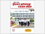 TẠP CHÍ QUỐC PHÒNG TOÀN DÂN số 11-2015