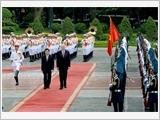 Lãnh đạo nước ta đón, tiếp, hội đàm với Tổng thống Ai-xơ-len