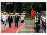 Lãnh đạo nước ta đón, tiếp, hội đàm, hội kiến với Tổng thống I-ta-li-a