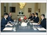 Thủ tướng Nguyễn Tấn Dũng hội đàm, hội kiến các nhà lãnh đạo Bỉ và EU