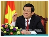 Chủ tịch nước Trương Tấn Sang trả lời phỏng vấn báo chí đầu năm mới 2016: Trên dưới đồng lòng vượt qua thử thách đưa đất nước đi lên