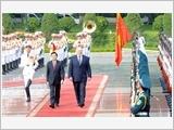 Lãnh đạo Đảng, Nhà nước ta đón, tiếp, hội đàm với Tổng thống Bê-la-rút A.Lu-ca-sen-cô