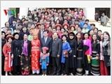 Đại đoàn kết dân tộc - nhân tố quyết định thắng lợi của cách mạng Việt Nam dưới sự lãnh đạo của đảng