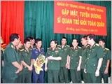 Gặp mặt, tuyên dương 40 sĩ quan trẻ giỏi toàn quân năm 2015