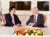 Chủ tịch nước Trương Tấn Sang hội đàm, hội kiến với các nhà lãnh đạo Cộng hòa Séc