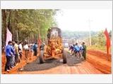 """Công ty 72 xây dựng """"đường biên xanh"""" ở khu vực biên giới tỉnh Gia Lai"""