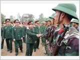Binh chủng Pháo binh xây dựng đội ngũ cán bộ theo tư tưởng Hồ Chí Minh