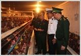 Quân đoàn 1 đẩy mạnh tăng gia sản xuất, thực hành tiết kiệm theo lời dạy của Bác Hồ