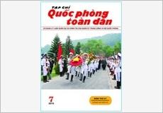 TẠP CHÍ QUỐC PHÒNG TOÀN DÂN số 7-2015