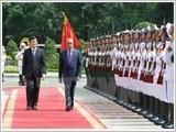 Lãnh đạo nước ta đón tiếp, hội đàm, hội kiến Tổng thống Băng-la-đét