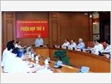 Thông báo Phiên họp thứ 8 của Ban Chỉ đạo Trung ương về phòng, chống tham nhũng