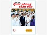 TẠP CHÍ QUỐC PHÒNG TOÀN DÂN số 11-2016