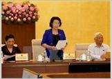 Khai mạc Phiên họp thứ 50 Ủy ban Thường vụ Quốc hội khóa XIII