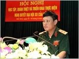 Trường Sĩ quan Chính trị đẩy mạnh chuẩn hóa đội ngũ nhà giáo, đáp ứng yêu cầu nhiệm vụ