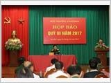 Bộ Quốc phòng họp báo quý III – 2017