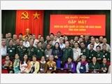 Bộ Quốc phòng gặp mặt Đoàn đại biểu Người có công với cách mạng tỉnh Bình Dương